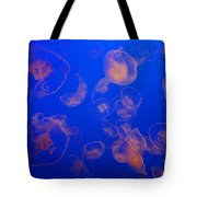 Multiple Jelly Fish Tote Bag