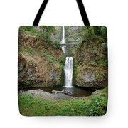 Multnomah Falls - Wide View Tote Bag