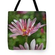 Mum Is In The Pink Digital Painting Tote Bag