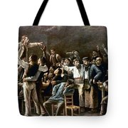 Munkacsy: Strike, 1895 Tote Bag