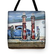 Mural Art At Consul Tote Bag