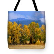 Murmur Of The Cottonwoods Tote Bag