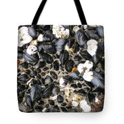 Muscles And Barnacles Tote Bag
