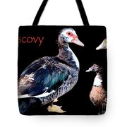 Muscovy Tote Bag