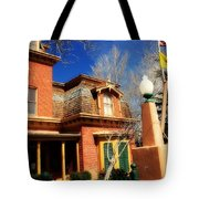 Museum In Silver City Nm Tote Bag