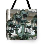 Museum Lights Tote Bag