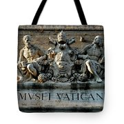 Museum Morning Tote Bag