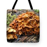 Mushroom Flower Tote Bag