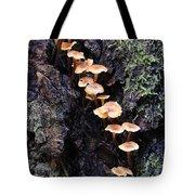 Mushroom Parade Tote Bag