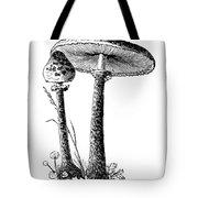 Mushroom: Parasol Agaric Tote Bag