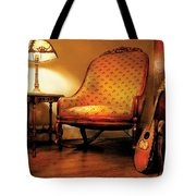 Music - String - The Chair And The Lute Tote Bag