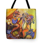 Musical Evening Tote Bag