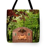 Music Hall And Park Tote Bag