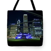 Music In The City Tote Bag