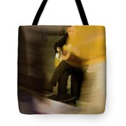 Music In The Flow Of Motion Tote Bag