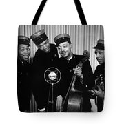 Music: The Ink Spots Tote Bag by Granger