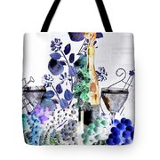 Music With Wine 1 Tote Bag