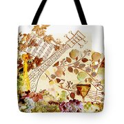 Music With Wine 2 Tote Bag