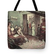 Musical Evening Ad, C1890 Tote Bag
