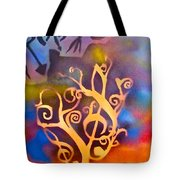 Musical Roots Tote Bag