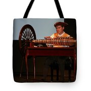 Musician And Glass Armonica Tote Bag