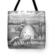Muskrat Hunting, 1873 Tote Bag