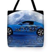 Mustang Reflection Tote Bag