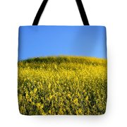 Mustard Grass Tote Bag