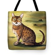 My Cats Worst Nightmare Detail Tote Bag