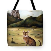 My Cats Worst Nightmare Tote Bag
