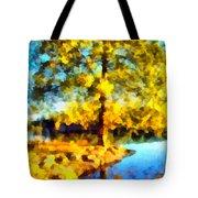 My Golden Impression Tote Bag