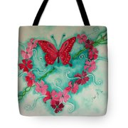 My Heart Has Been Pierced By Love Tote Bag