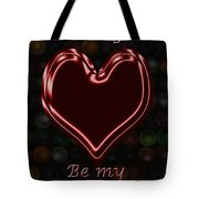 My Heart Is Yours Valentine Card Tote Bag