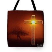 My Life Cross Tote Bag