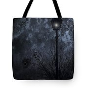 My Light Will Wait Tote Bag