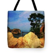 My Little Grass Shack - Baja Mexico  Tote Bag