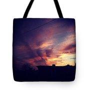 My Sky Tote Bag by Katie Cupcakes