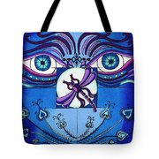 My Soulful Eyes Tote Bag