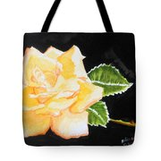 My Yellow Rose Tote Bag