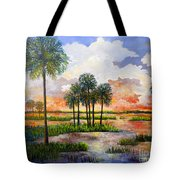 Myakka Sunset Tote Bag