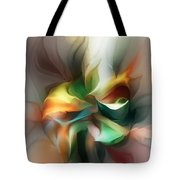 Mysterious Bloom Tote Bag