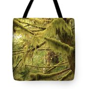 Mysterious Moss Tote Bag