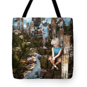 Mysterious Path Tote Bag