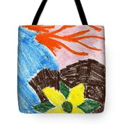 Mystic Flower Tote Bag