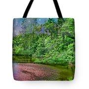Mystic Lake Tote Bag