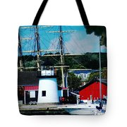 Mystic Seaport Ct Tote Bag