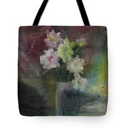 Mystical Flowers Tote Bag