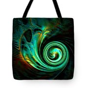 Mystical Spiral Tote Bag