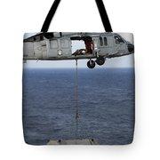 N Mh-60s Sea Hawk En Route Tote Bag