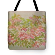 Nadina Leaves Tote Bag